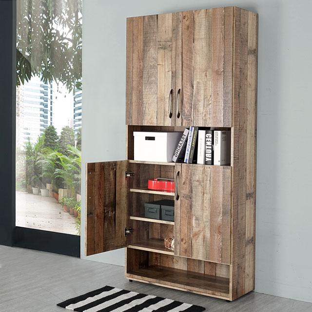 《Homelike》韋恩2.7尺半開放置物櫃