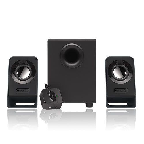 Logitech 羅技 Z213 多媒體 2.1聲道 三件式 音響 喇叭