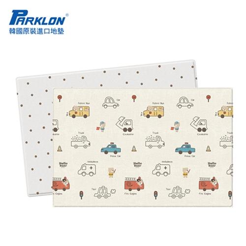 【BabyTiger虎兒寶】PARKLON 韓國帕龍-雙面加厚1.2CM PURESOF 爬行地墊 - 汽車總動員