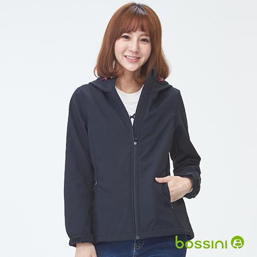 bossini女裝-機能複合外套01黑