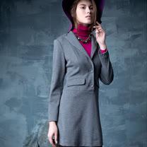 【PANGCHI 龐吉】<BR>西裝式風格洋裝