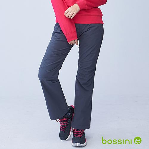 bossini女裝-(網路款)多功能防風雪褲鐵-灰