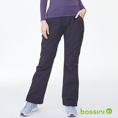 bossini女裝-(網路款)多功能防風雪褲-黑