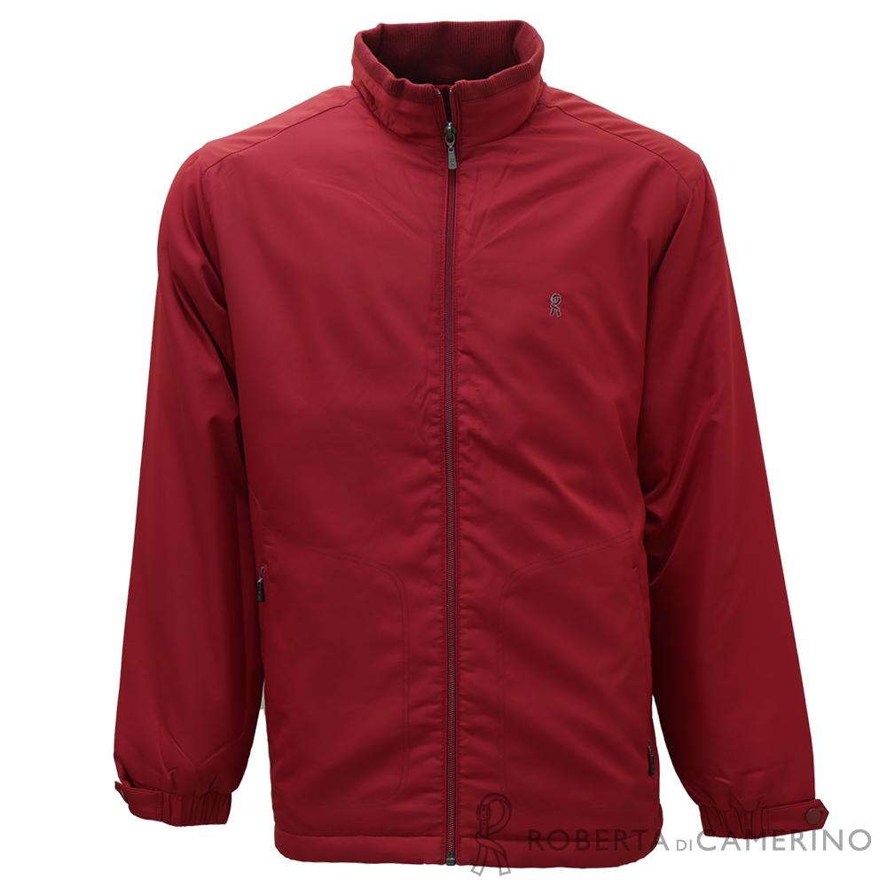 ROBERTA諾貝達 戶外必備 內裡鋪棉 機能夾克外套 紅色