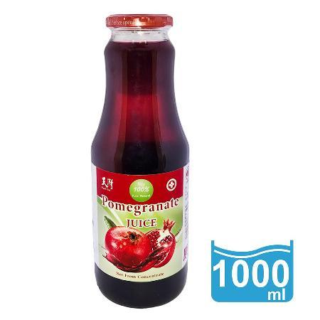 【天廚】石榴紅 有機石榴汁1000ml