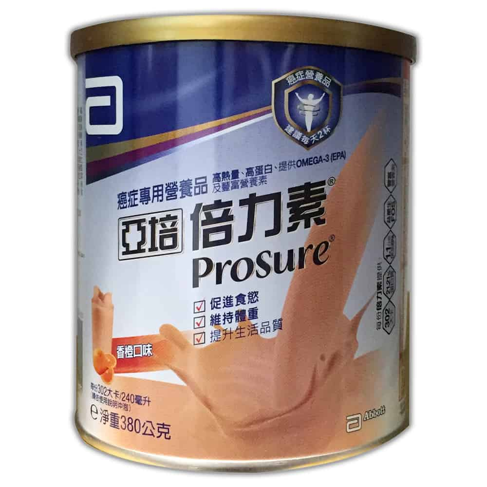 亞培 PROSURE 倍力素粉 香橙 380g/瓶★愛康介護★
