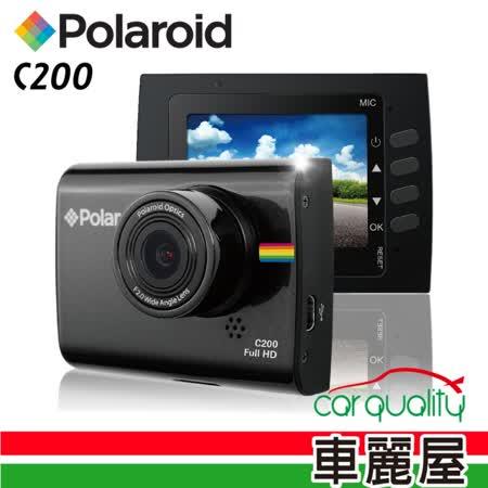 【Polaroid 寶麗萊】C200  迷你 1080P 2吋 行車紀錄器