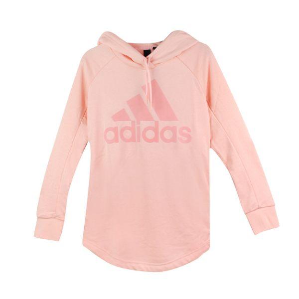Adidas 女 W SID OH HOODIE 愛迪達 連帽T(長)- CY0690