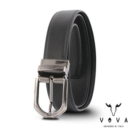 VOVA  穿針式素面紋皮帶