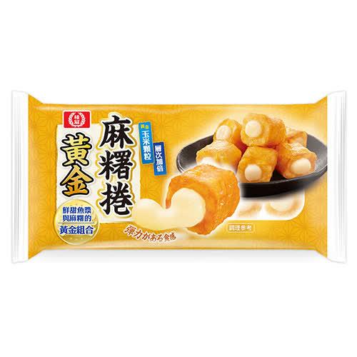 【桂冠】黃金麻糬捲