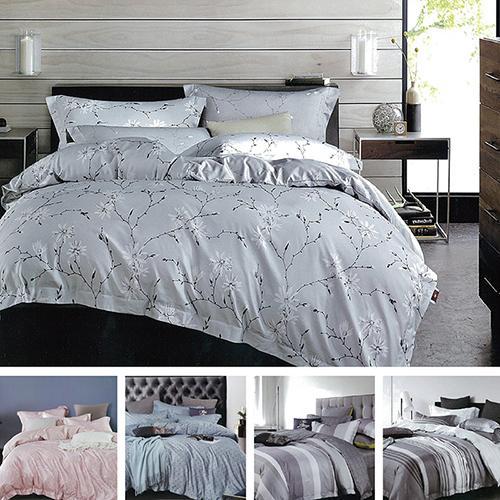 Indian 天絲加大3M抗菌吸濕排汗五件式床罩組-多款任選 6*6.2