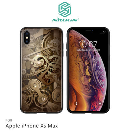 NILLKIN Apple iPhone Xs Max 金芯玻璃手機殼
