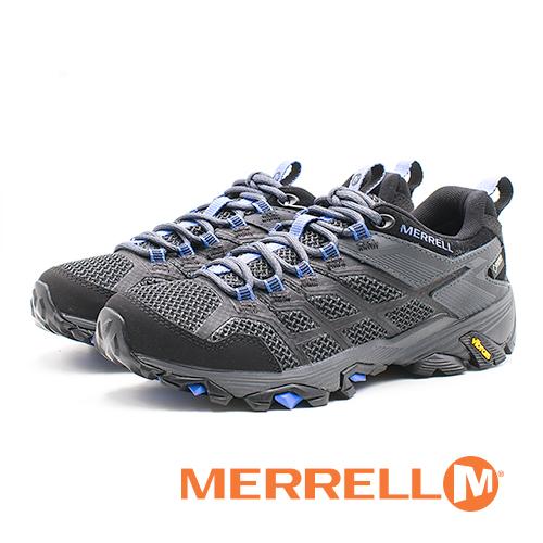MERRELL(女) MOAB FST 2 GORE-TEX® 健走登山鞋 耐磨抗菌 防水 防臭緩震-黑(另有紫)