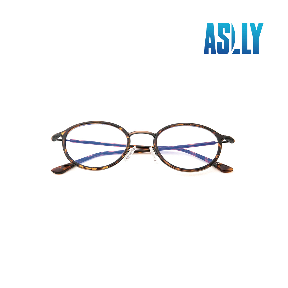 【ASLLY】娜芙蒂蒂的左眼(經典淺棕鏡面偏光雷朋飛官款墨鏡/太陽眼鏡)