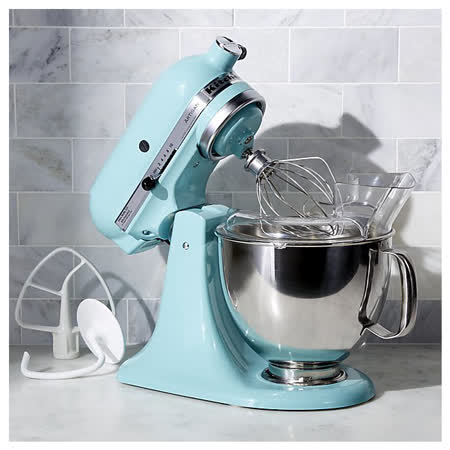 KitchenAid 桌上型攪拌機-蘇打藍限定