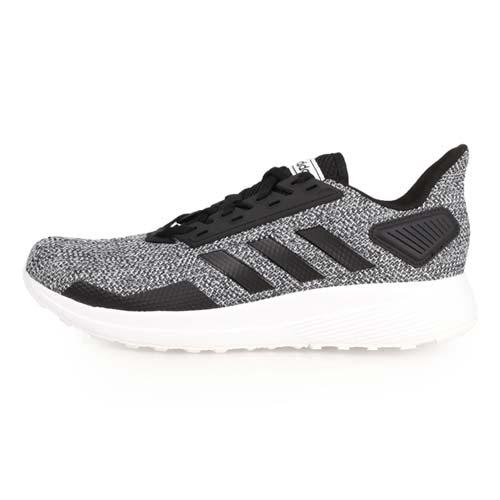 (男) ADIDAS DURAMO 9 慢跑鞋-訓練 路跑 愛迪達 灰黑白
