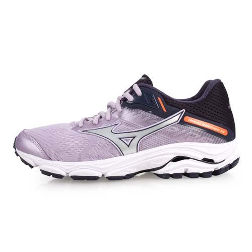 (女) MIZUNO WAVE INSPIRE 15 慢跑鞋-訓練 路跑 美津濃 粉紫黑銀