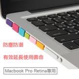 Apple Macbook Pro Retina專用防塵塞12件套組(白)