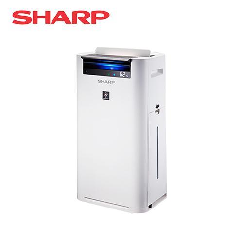 SHARP 夏普 日本進口 12坪 自動除菌離子清淨機 KC-JH50T-W