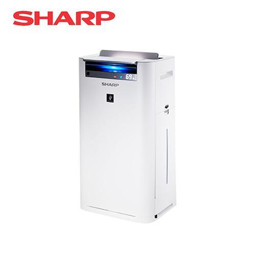 SHARP 夏普 日本進口15.4坪自動除菌離子清淨機 KC-JH70T-W