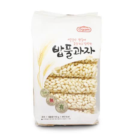 韓國蜜糖米香餅 110G