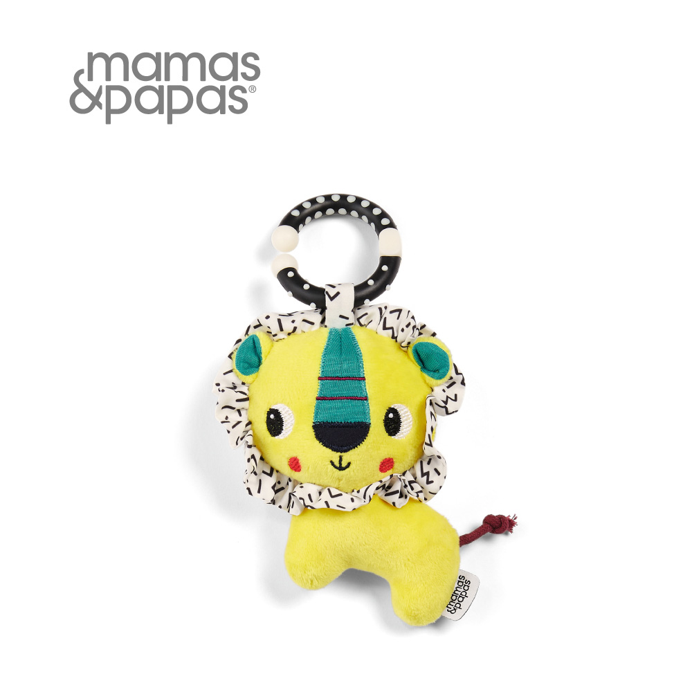 【Mamas & Papas】小隻的巴巴里獅(吊飾玩偶)