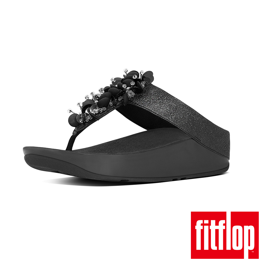 FitFlop - BOOGALOO TM TOE POST-黑色