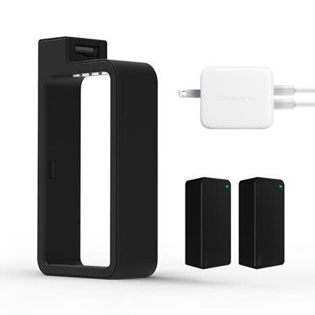 Q-SWAP隨身電源禮盒版 +Innergie 24W 充電器
