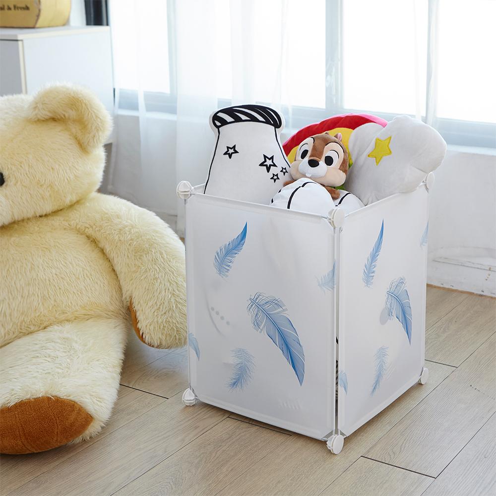【ikloo】輕巧可移式洗衣籃/髒衣籃/收納桶