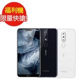 福利品NOKIA 6.1 Plus 4G/64G 5.8 吋八核心智慧型手機(九成新)