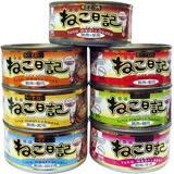 聖萊西Seeds》黃金喵喵日記營養綜合餐罐貓罐-170g*48罐