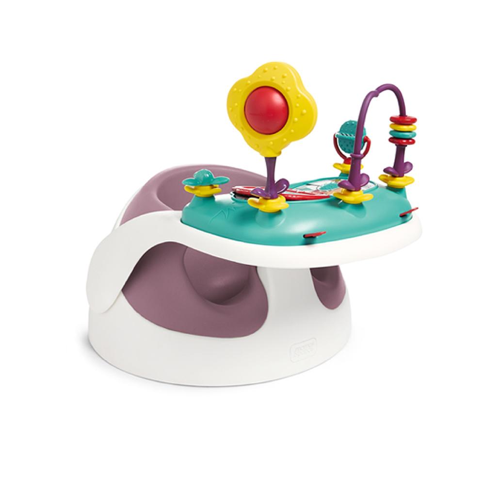 【Mamas & Papas】二合一育成椅v2-乾燥玫瑰(附玩樂盤)
