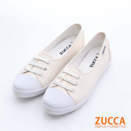ZUCCA 抽繩帆布面休閒鞋