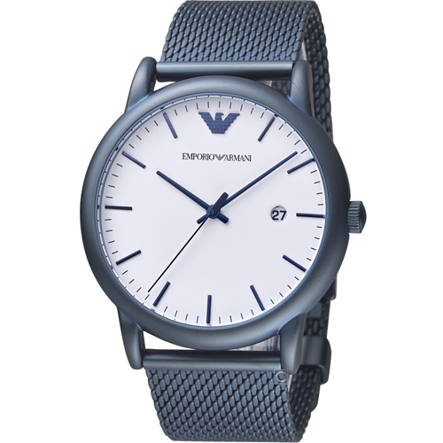 Emporio Armani Dress 米蘭帶時尚腕錶(AR11025)