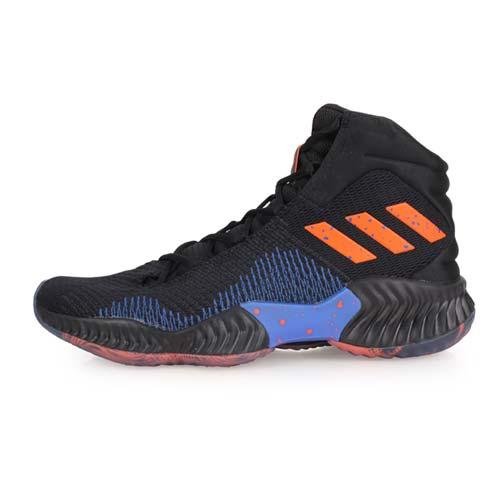 (男) ADIDAS POR BOUNCE 2018 籃球鞋-訓練 高筒 愛迪達 黑橘藍