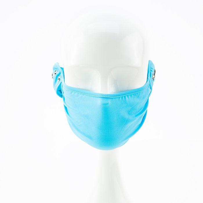 【HOII】星星鉚釘美膚口罩-大人-藍