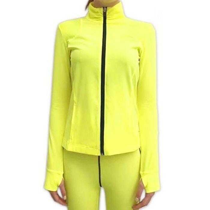 【HOII】雙肩透氣機能外套-黃