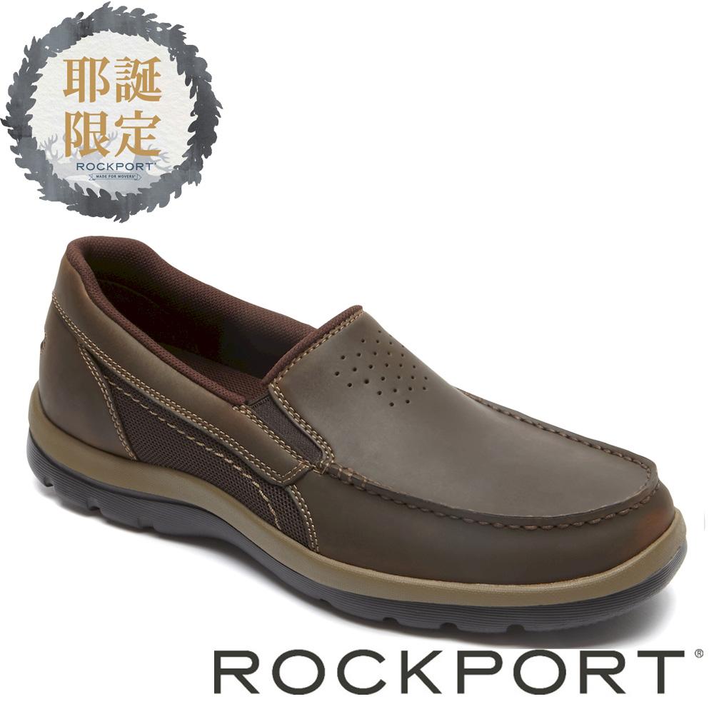 ROCKPORT特賣匯-城市玩家套入式牛皮休閒鞋-ROM80240SC17