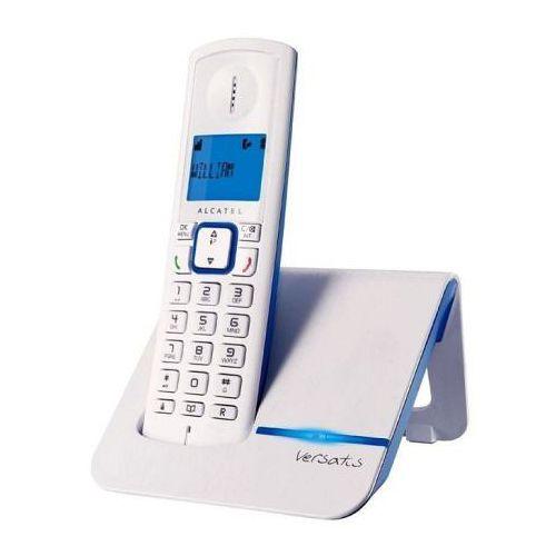 Alcatel阿爾卡特  Versatis F200 數位室內無線電話 藍/橘 二色可選