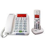 三洋 SANYO DECT中文顯示/助聽功能 數位長距離子母機無線電話 DCT-9951