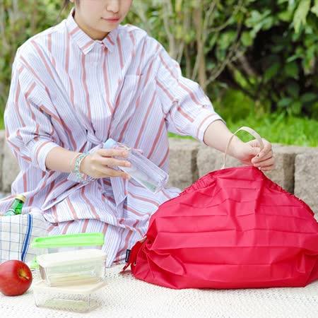日本Shupatto 快速收折購物袋M