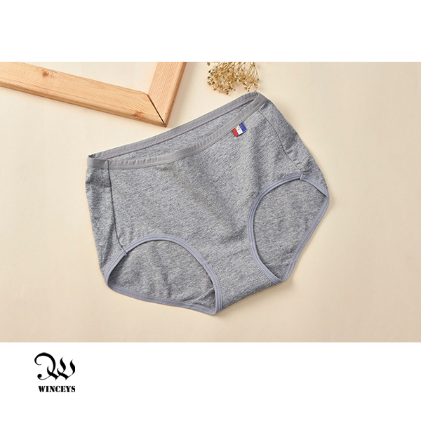 WINCEYS 優質棉輕盈繽紛美臀內褲-灰(3入)