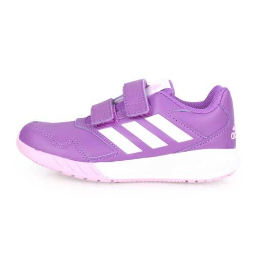 (童) ADIDAS ALTARUN CF K 女兒慢跑鞋-愛迪達 紫白