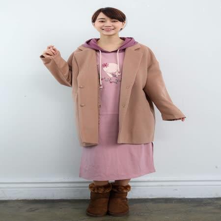 Pink* 獨家 小米採花休閒長洋裝