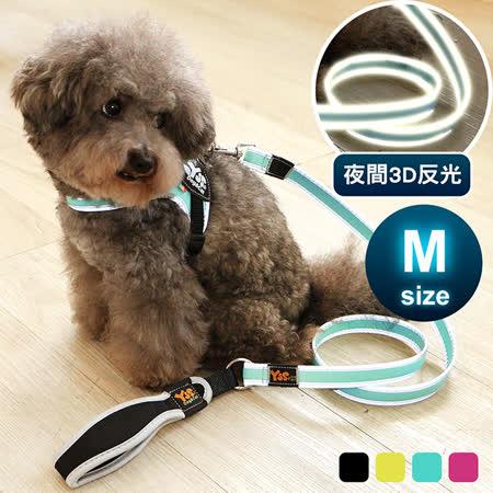 YSS 寵物防水3D反光牽繩