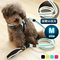 YSS<br> 寵物防水耐用3D反光牽繩
