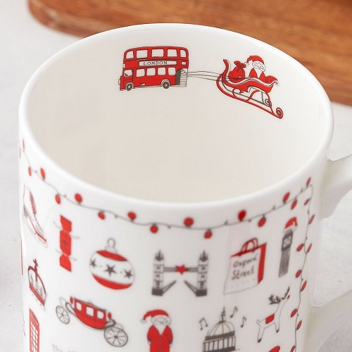 英國蛋 馬克杯│倫敦聖誕