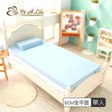 【1/3 A LIFE 鑫妮】6cm輕柔舒壓記憶床墊-單人