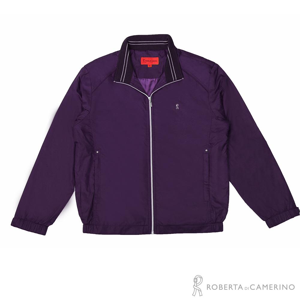ROBERTA諾貝達 台灣製 進口素材 機能夾克外套  紫色