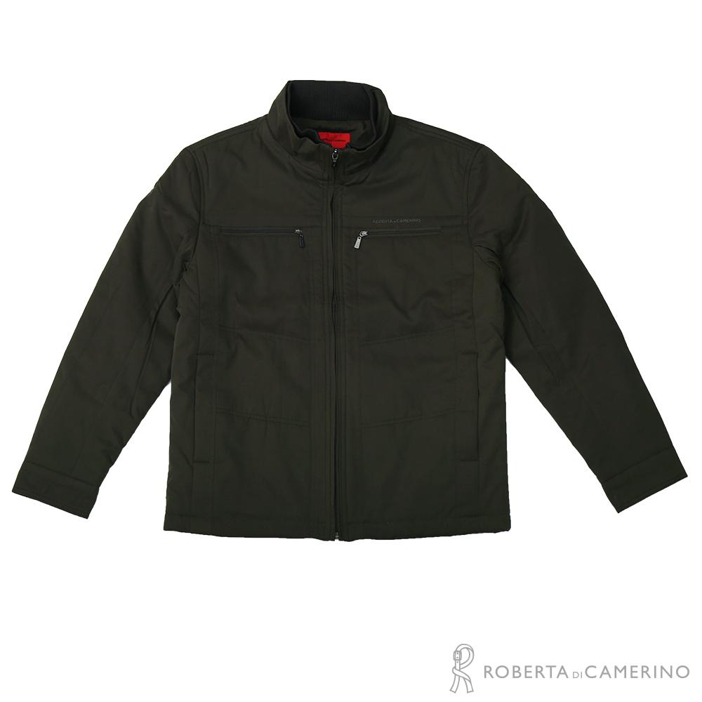ROBERTA諾貝達 時尚型男 內裡鋪棉夾克外套  灰綠